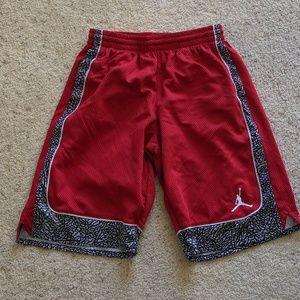 Jordan Brand by Nike boys dri fit shorts EUC